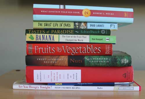 Book spine poetry: the food edition