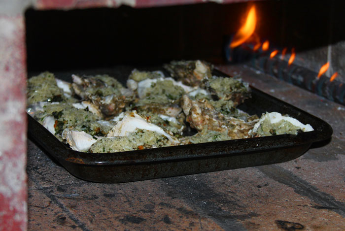 Old school backyard foodie: Oysters Rockefeller