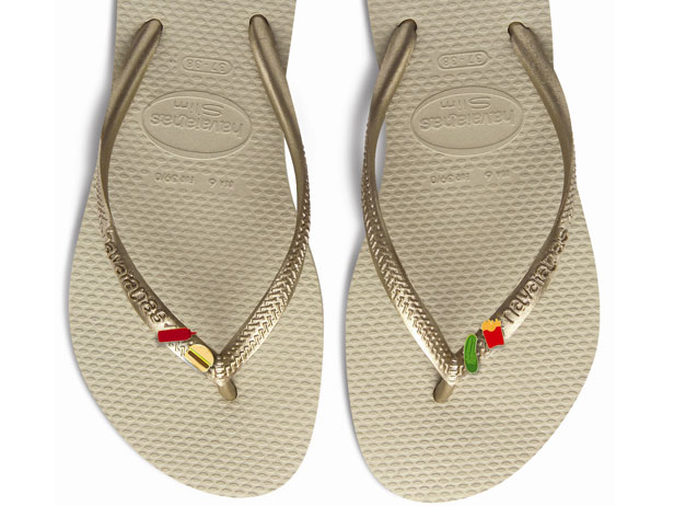 Foodie flip-flops: Chef Michelle Bernstein and Havaiana