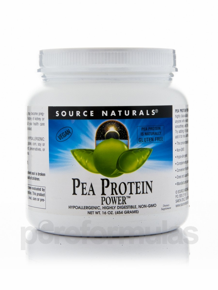 This powdered pea protein is delicious