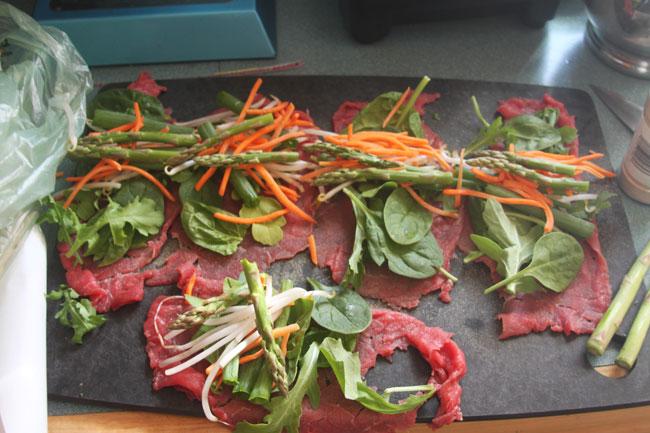 paleo meat roll