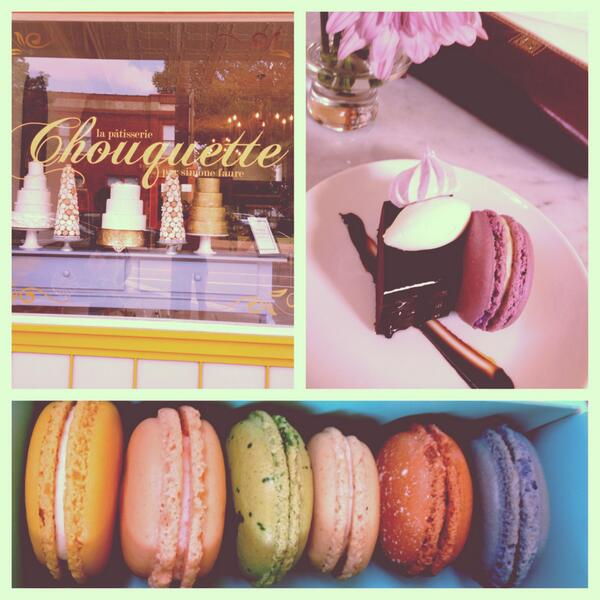 Macarons from La Patisserie Chouquette