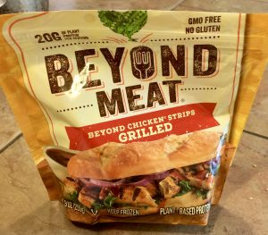 Beyond Meat Beefy Crumble Tacos
