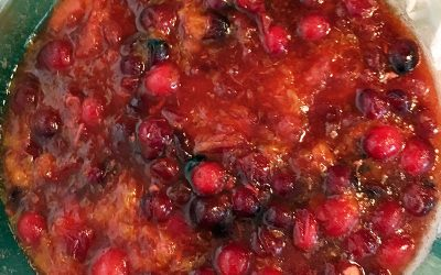 Holiday Cranberry-Satsuma Relish