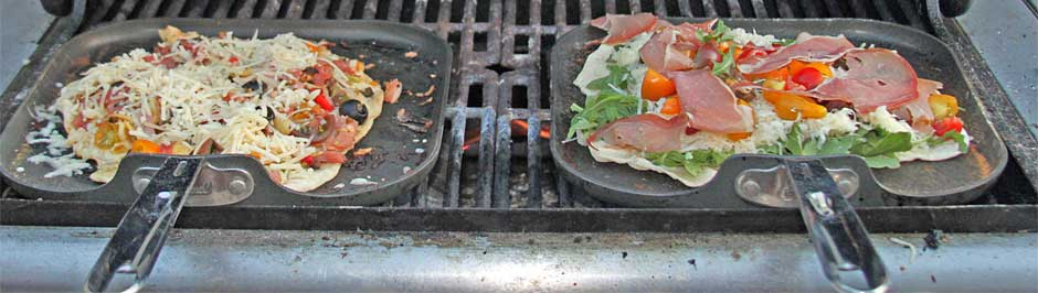 Grilled pizza how-to