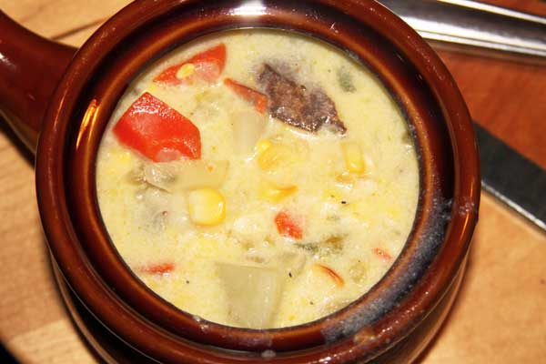Corn and Poblano Chowder Recipe
