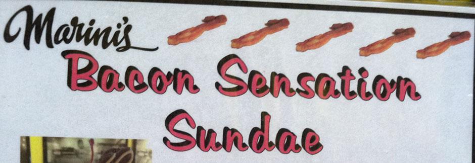 Bacon for dessert!