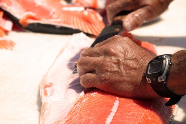 filet a salmon