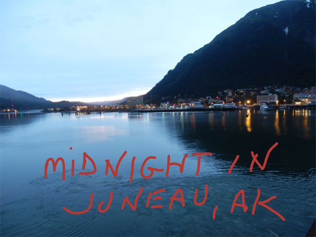 Midnight in Juneau